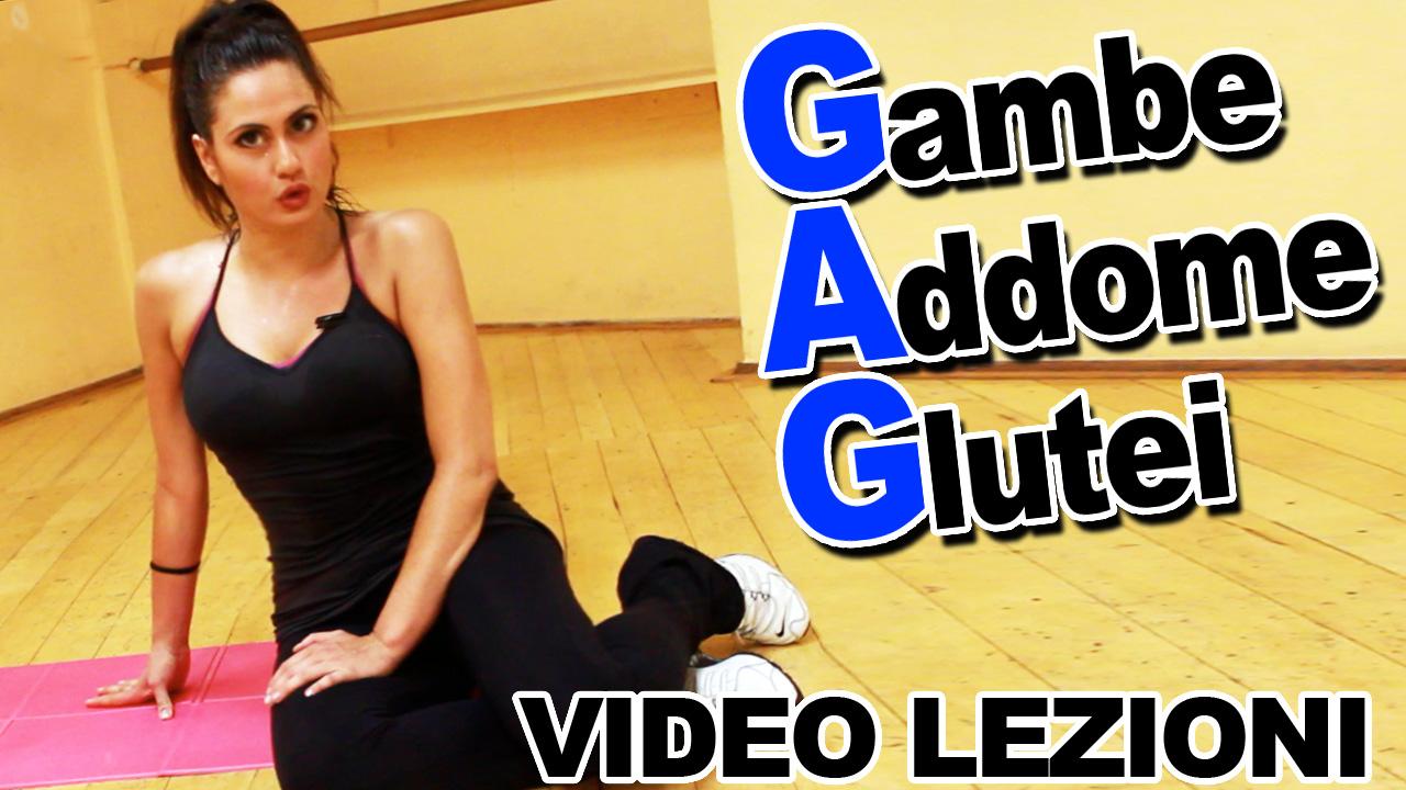 Eccezionale GAG: Gambe Addominali e Glutei – Esercizi per dimagrire con  WW19