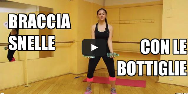 Come tonificare le braccia esercizio per dimagrire e - Allenamento kick boxing a casa ...